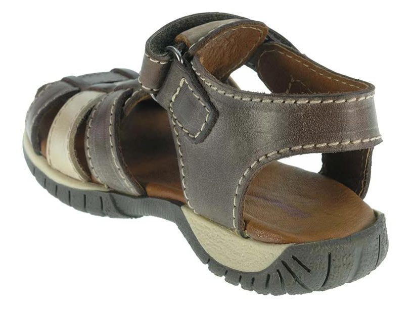 Boys Leather Sandals Toddler and Infant Shoe Size 5.5 ...