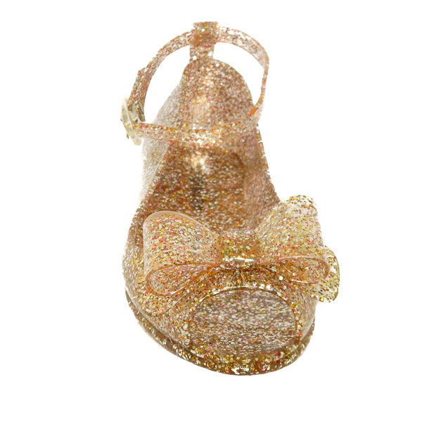 Pine glitter sparkly jelly sandals Shoes size 10 11 12 13 1 2 front