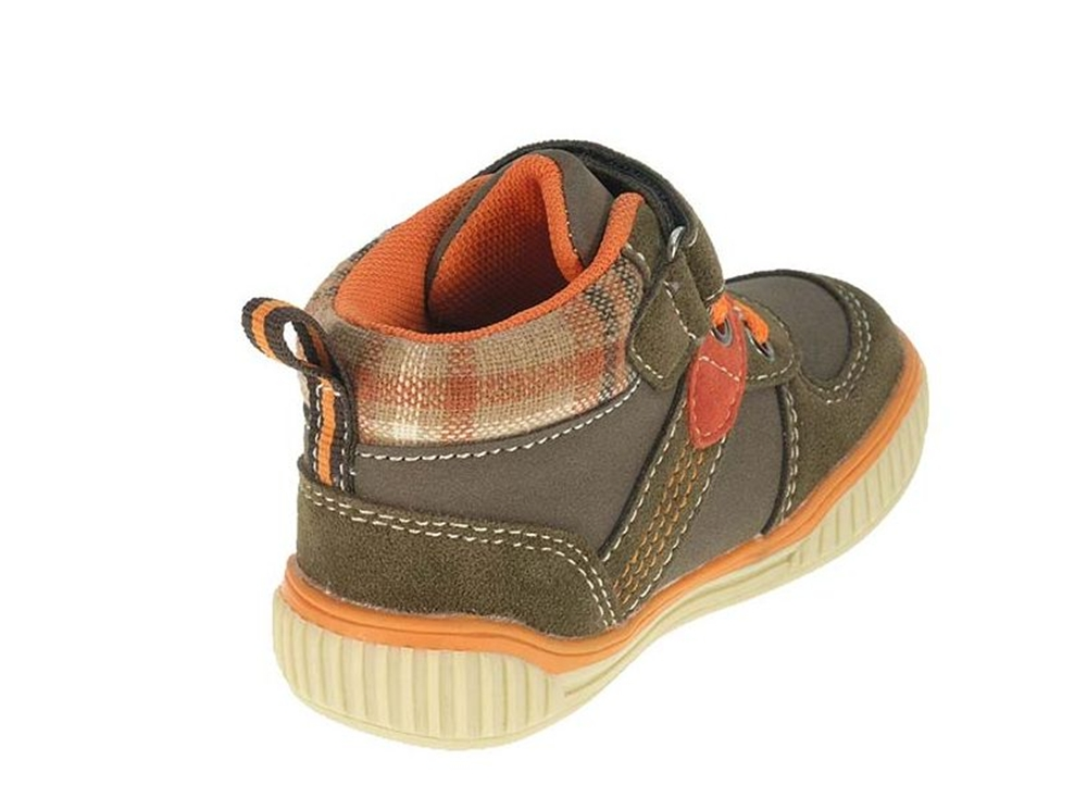 Toddler Baby Boys Brown Infant High Top Trainers Ankle ...