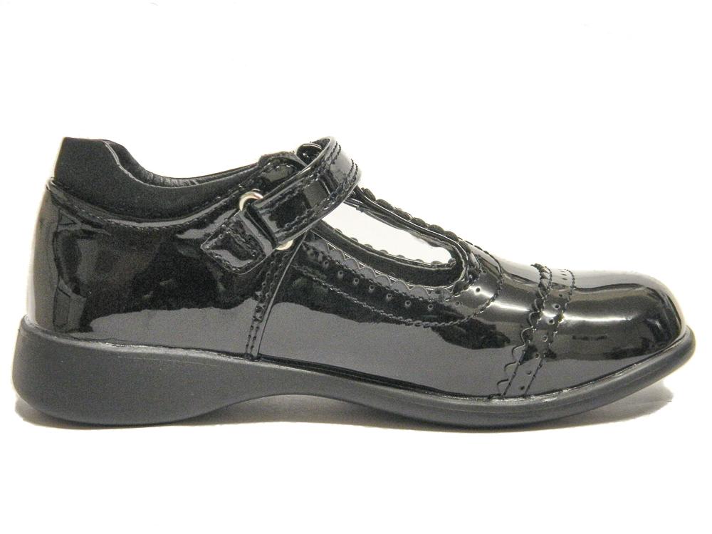 Black Girls Toddler Leather Shoes Uk