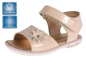 Pink summer sandals for girls
