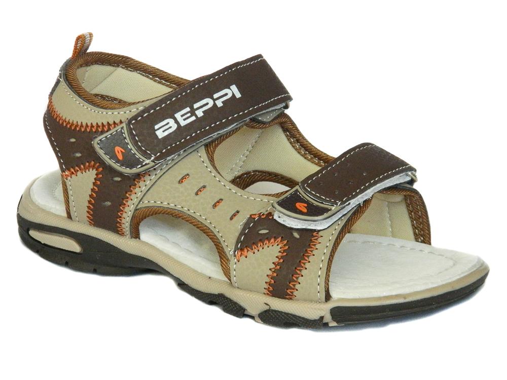 Boys Brown Summer Sandals | Beppi Shoes | Loar Shoes