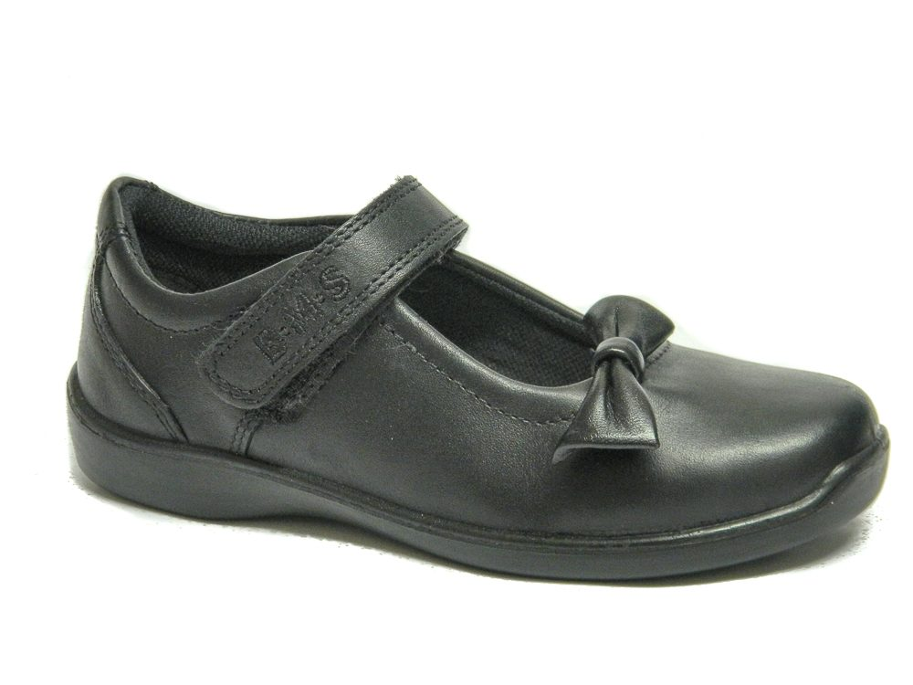 new-bms-girls-school-shoes-black-leather-uk-kids-size-toddler-infant-8-9-10-11-12-13-1-2-3-main