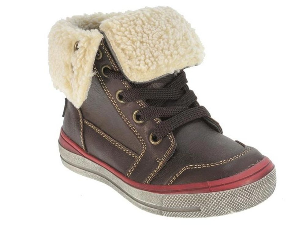 boys-girls-toddlers-fur-brown-faux-lined-lace-up-high-top-trainers-ankle-boots-infant-shoes-size-7-5-8-5-9-5-10-11-12