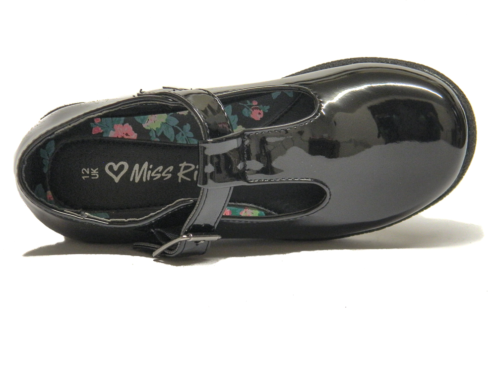 Miss Riot Girls Black Patent Formal School Shoes  04bc0c716