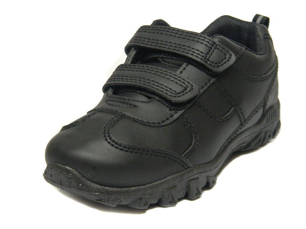 Chatterbox Boys Black School Trainers Shoes  2e901b5df