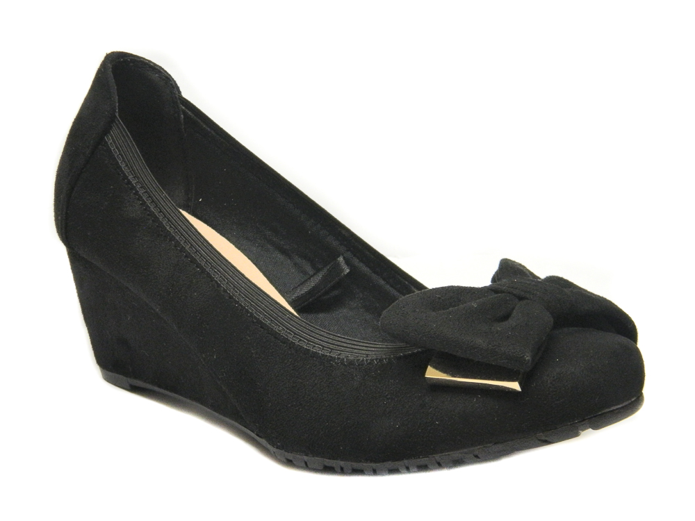 350498c070 Women Wide fit Wedge Shoes UK Size 3 - 8 | Comfort Plus Ellie | Loar ...